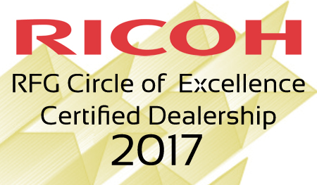 Modern Office Methods has been recognized as a Ricoh Circle of Excellence Award Winner