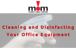Cleaning & Disinfecting Office Equipment